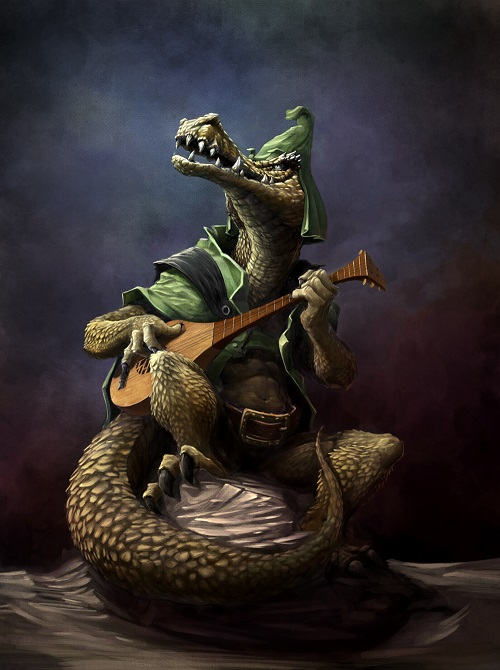 crocodile bard