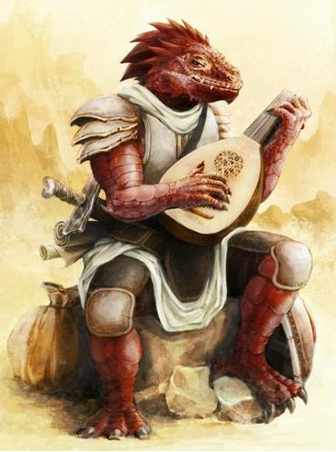 Dragonborn Bard